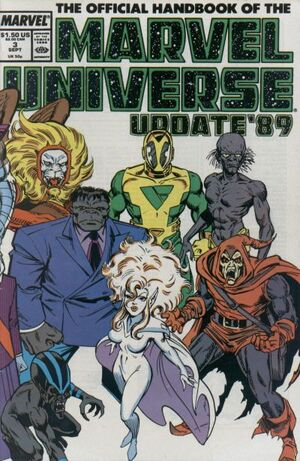 Official Handbook of the Marvel Universe Vol 3 3