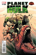 Planet Hulk Vol 1 2 Çinar Variant