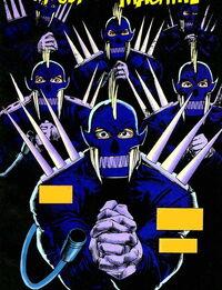 Revengers (Gang) (Earth-616) from Marvel Comics Presents Vol 1 168 0001