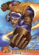 Samuel Guthrie (Earth-616) from X-Men (Trading Cards) 1996 Set 0001
