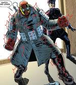 Shultz (Earth-90214) from Spider-Geddon Spider-Man Noir 001