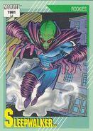Sleepwalker (Earth-616) from Marvel Universe Cards Series II 0001