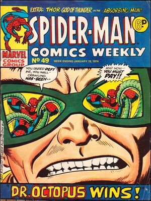 Spider-Man Comics Weekly Vol 1 49