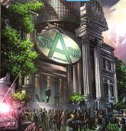 Stark Enterprises Building (Los Angeles) from Incredible Hulk Vol 2 71 001