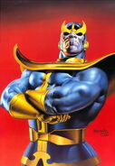 Thanos (Earth-616) from Marvel Masterpieces Trading Cards 1996