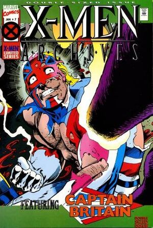 X-Men Archives Featuring Captain Britain Vol 1 7