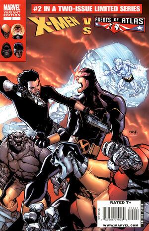 X-Men vs Agents of Atlas Vol 1 2 Ramos Variant