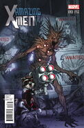 Amazing X-Men Vol 2 13 Rocket Raccoon and Groot Variant