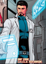 Anthony Stark (Earth-415) from Marvel Future Fight An Eye on the Future Vol 1 1 001