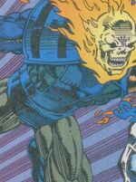 Ghost Rider (Earth-9939) from Death³ Vol 1 2 0001
