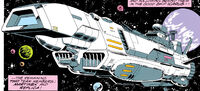 Icarus Starship from Guardians of the Galaxy Vol 1 34
