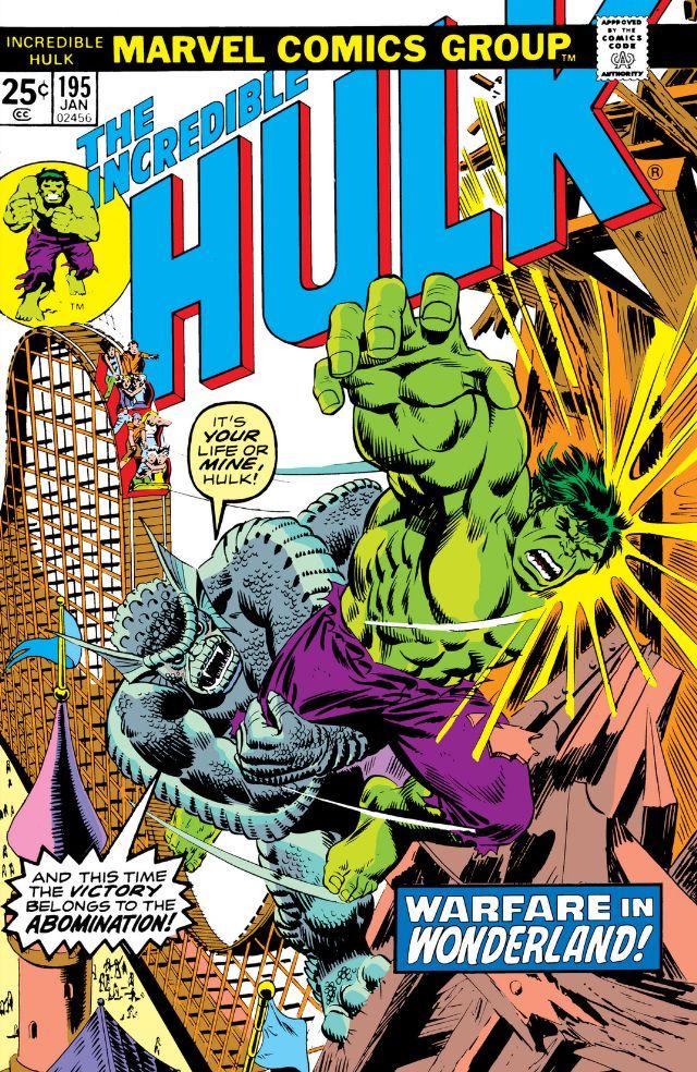 Incredible Hulk Vol 1 195