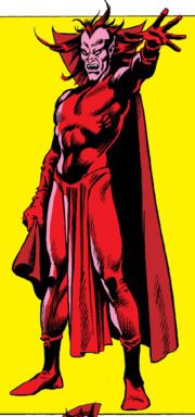 Mephisto (Earth-616) from Official Handbook of the Marvel Universe Vol 1 7 0001