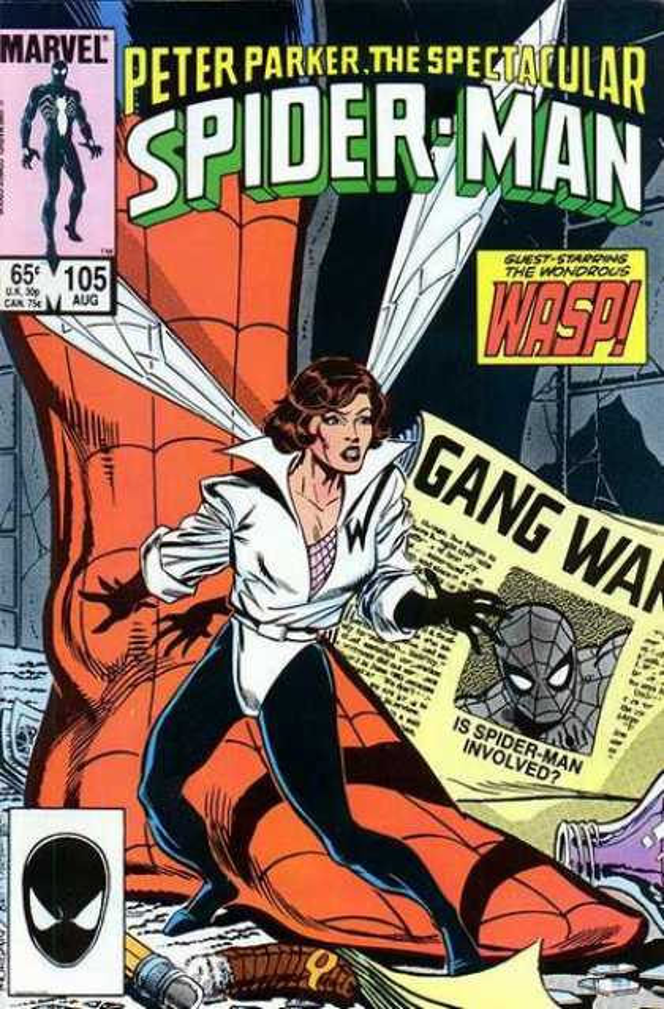 Peter Parker, The Spectacular Spider-Man Vol 1 105