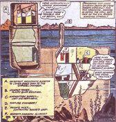 Rozzo's Swamp Citadel from Captain America Comics Vol 1 12 0001