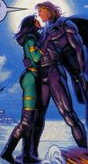 Ryu Kobolt & Shakti Haddad (Earth-928) from X-Men 2099 Oasis Vol 1 1 0001