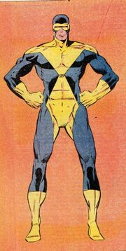 Scott Summers (Earth-616) X-Factor aborted concept from Official Handbook of the Marvel Universe Vol 2 3