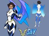 Sky (Earth-616)/Gallery