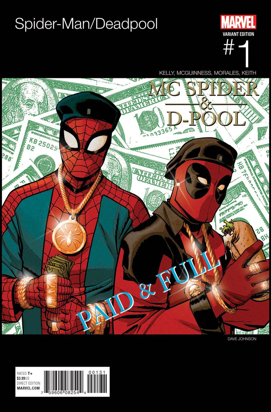 Spider Man Deadpool Vol 1 Hip Hop Variant