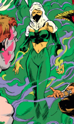Veil (Earth-616) from New Mutants Annual v1 7