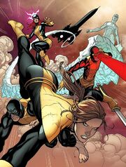 X-Men (Time-Displaced) (Earth-616) from X-Men Battle of the Atom Vol 1 1 001