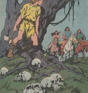 Zingara from Conan the Barbarian Vol 1 174 0001