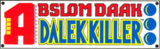Abslom Daak - Dalek Killer Vol 1 Logo