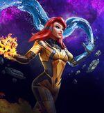 Crystalia Amaquelin (Earth-TRN670) from Marvel Strike Force 001