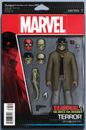 Deadpool & the Mercs for Money Vol 1 3 Action Figure Variant