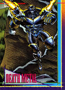 Death Metal (Earth-8410) from Marvel Universe Cards Series IV 0001