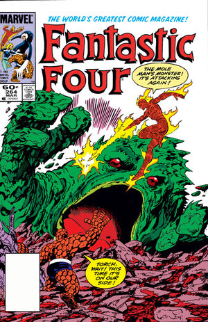 Fantastic Four Vol 1 264
