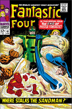 Fantastic Four Vol 1 61
