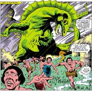 Godzilla (Earth-616) mutated form from Iron Man Vol 1 193
