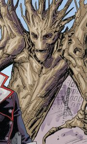 Groot (Earth-94241) from Infinity Gauntlet Vol 2 5 001