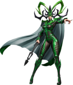 Hela (Earth-TRN789) from Marvel Super War 002