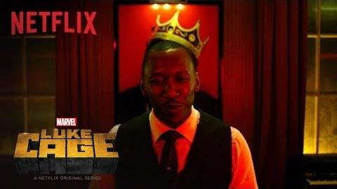 "Luke Cage Clip ""Be King"" HD Netflix"