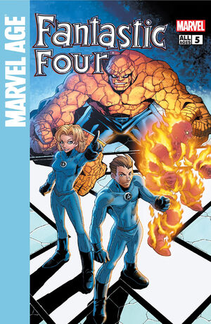 Marvel Age Fantastic Four Vol 1 5
