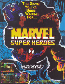 Marvel Super Heroes (Arcade Game) Promo 0001