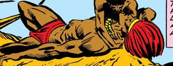 N'Jobu (Earth-616) from Jungle Action Vol 2 7 0001