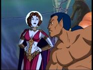 Namor McKenzie (Earth-534834) & Dorma (Earth-534834) from Fantastic Four (1994 animated series) Season 1 3 0001