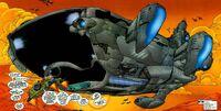 S.H.I.E.L.D. Helicarrier from WildC.A.T.s X-Men Vol 1 The Silver Age 001