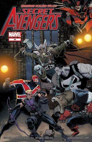 Secret Avengers Vol 1 34