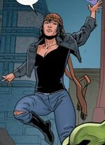 Strange (Jeannie) (Earth-23291) from Secret Wars 2099 Vol 1 2