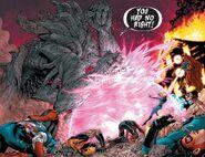 Void (Dark Sentry) (Earth-616) vs. New Avengers (Earth-616), Fantastic Four (Earth-616), and Stephen Strange (Earth-616) from New Avengers Vol 1 9 001