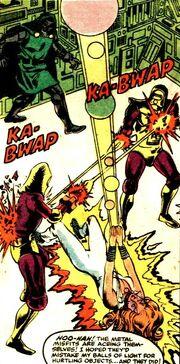 Alison Blaire, Robotron, Victor von Doom (Earth-616) from Dazzler Vol 1 4
