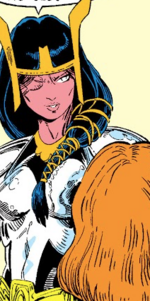 Axe (Valkyries) (Earth-616) from New Mutants Special Edition Vol 1 1 001