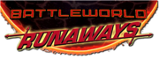 Battleworld Runaways (2015) logo