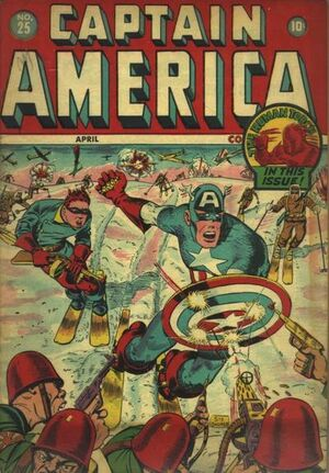 Captain America Comics Vol 1 25