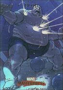 Frederick Dukes (Earth-616) from Marvel Masterpieces Trading Cards 2007 0001