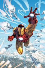 Invincible Iron Man Vol 2 14 Silvestri Variant Textless